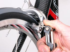 Check The Bicycle Brakes
