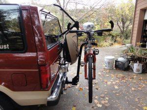 Check The Bicycle Rack