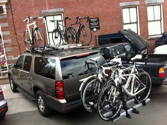 Roof VS Hitch Bike Rack