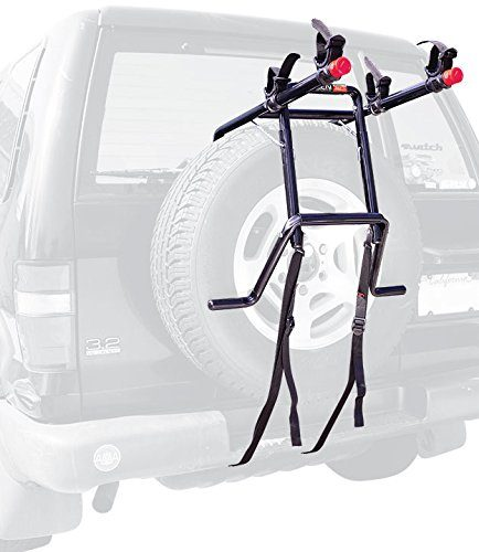 Allen Sports Deluxe 2-Bike - Spare Tire Bike Rack