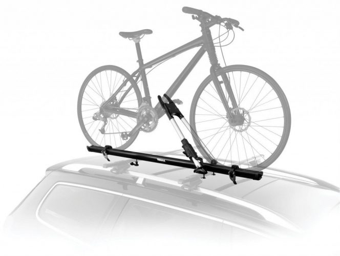 Thule 599XTR Big Mouth Upright Rooftop Bicycle Carrier