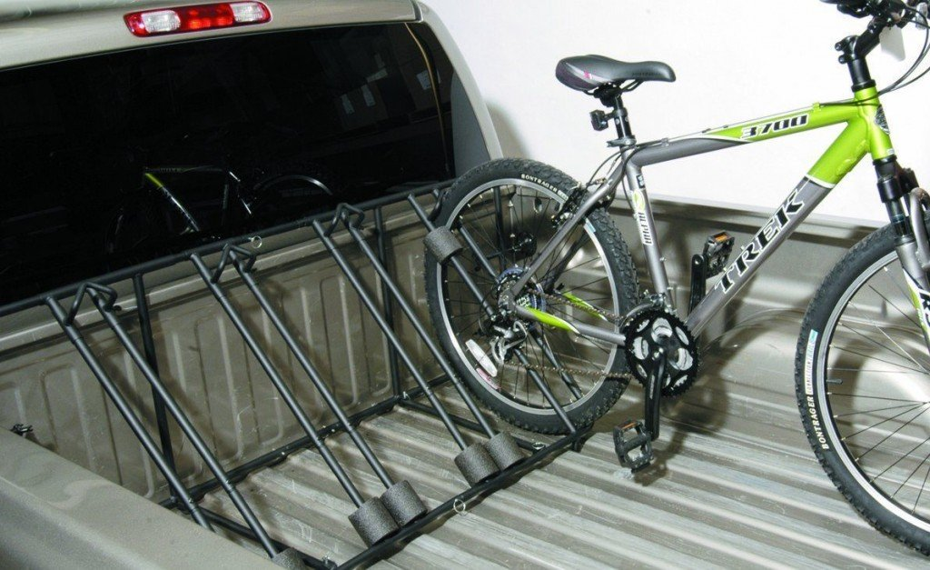 Locking Truck Bed Bike Carrier