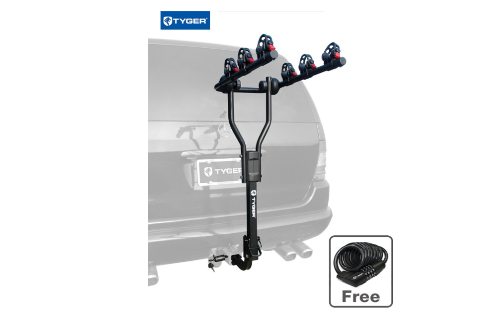TYGER Deluxe 4-bike Carrier Rack