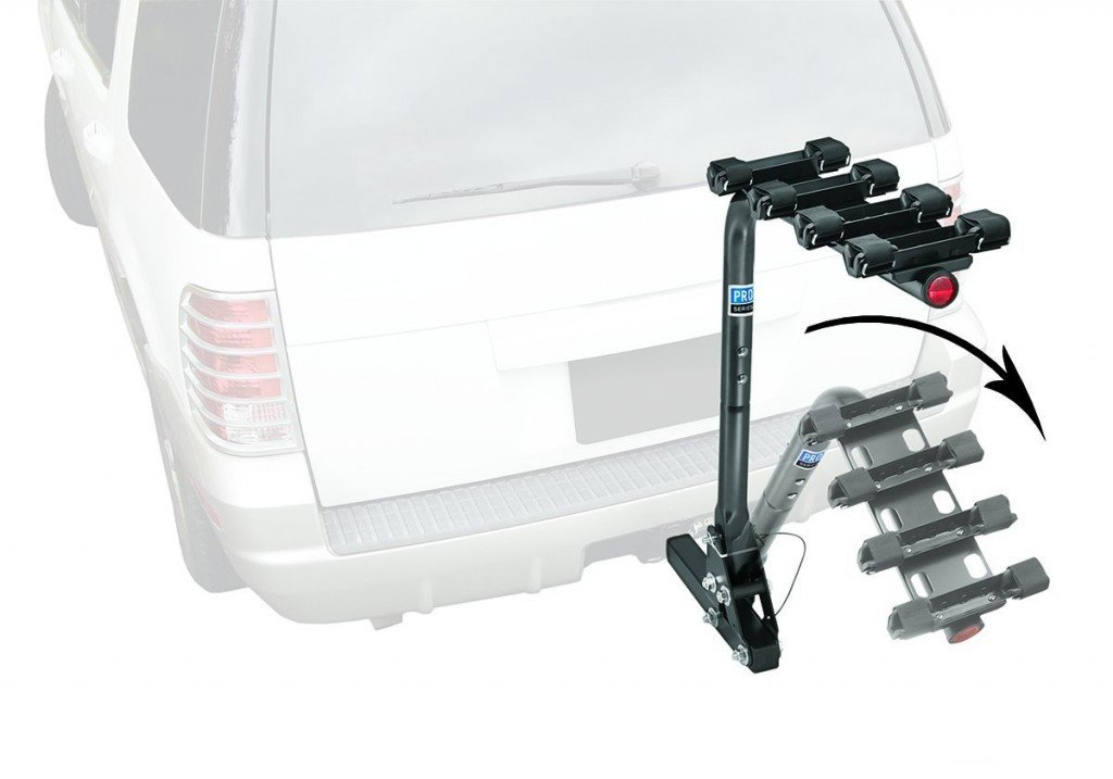 Pro-Series 63124 Eclipse Black 4 Bike Carrier