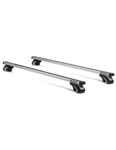 Vault 54 in. Universal Locking Roof Rack Crossbars Vault