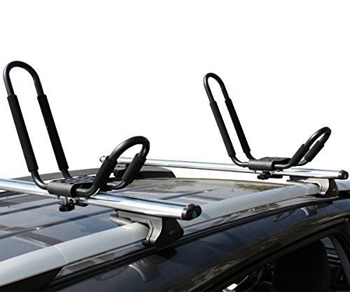 TMS J-Bar Rack HD Kayak Carrier 1