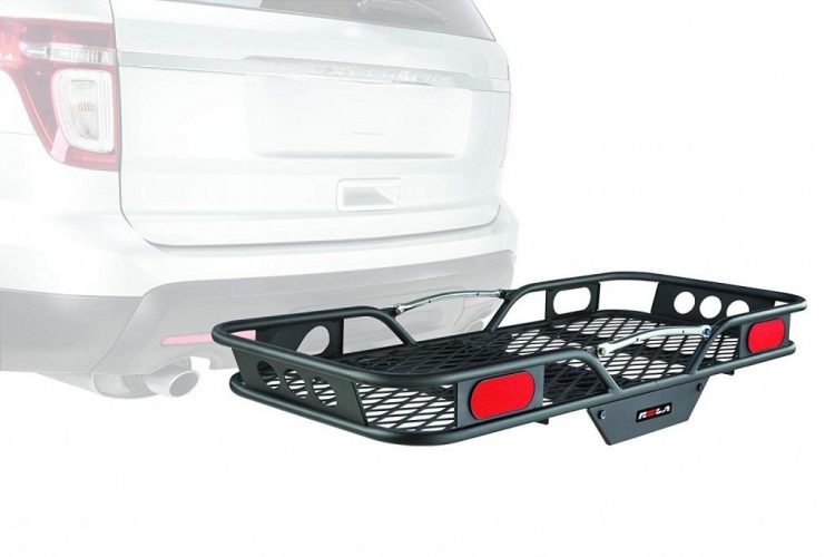 Rola Vortex Steel Hitch-Mount Cargo Carrier