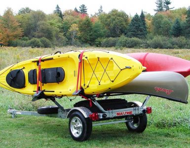 Malone MicroSport Kayak Trailer Review - Rackmaven