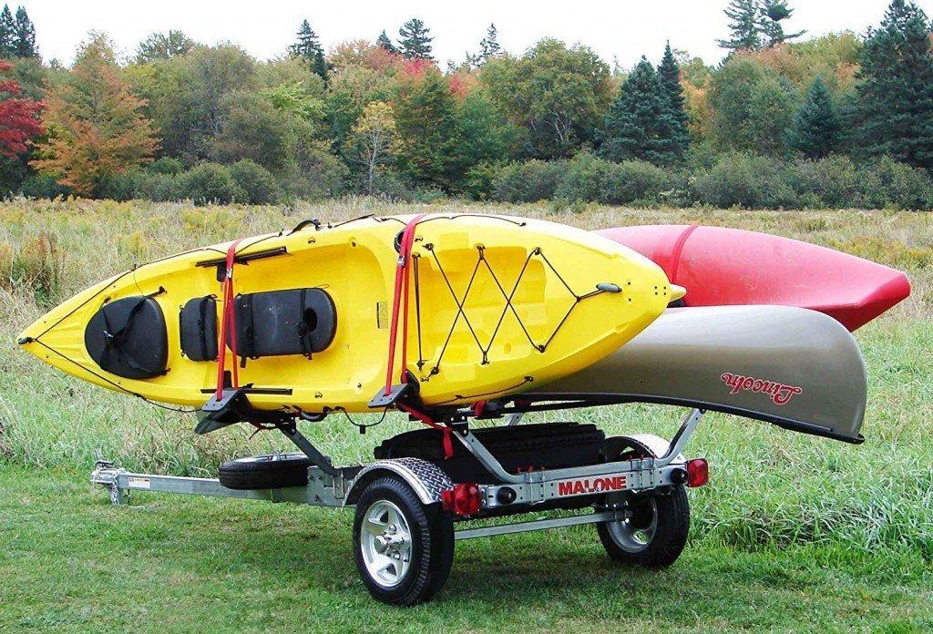 Malone MicroSport Kayak Trailer Review - Rackmaven