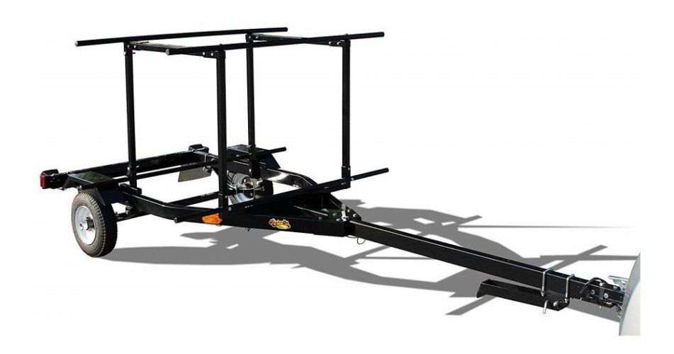 RIGHT-ON TRAILER Multi-Sport Multi-Rack Kayak Trailer