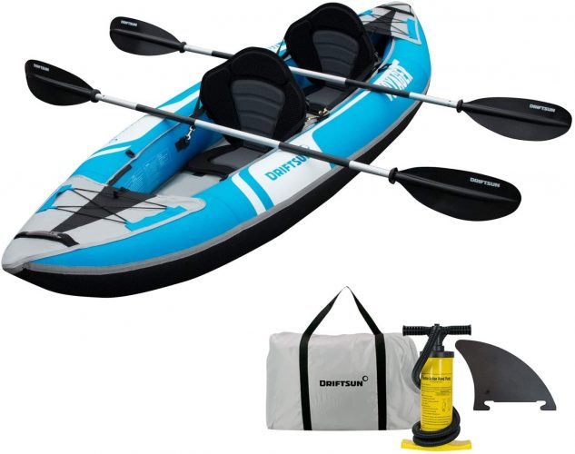 Driftsun Voyager 2 Person Tandem Inflatable Kayak
