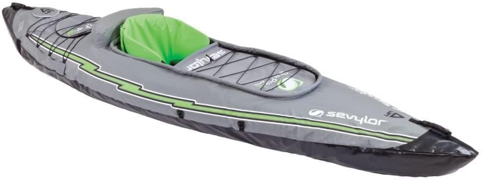 Sevylor Quikpak K5 1-Person Kayak , Gray